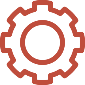 vector free stock Collection of free Red transparent gear