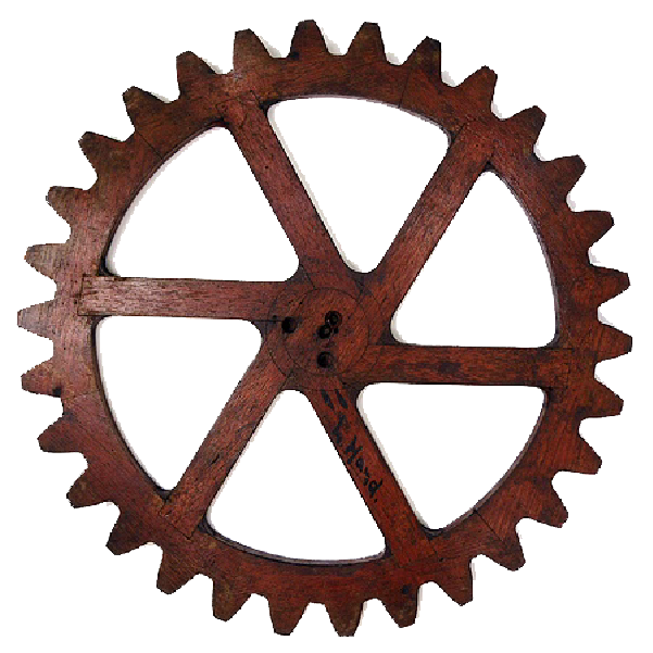 graphic freeuse library gears transparent rusty #113110521