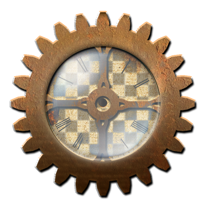clip art black and white stock Steampunk Gear with Clock STOCK by ValerianaSTOCK on DeviantArt
