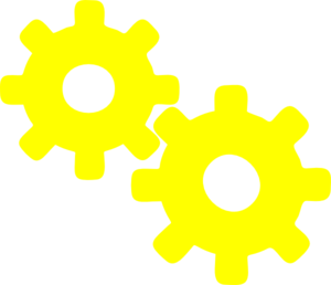 image transparent download Collection of free Gearing clipart yellow gear