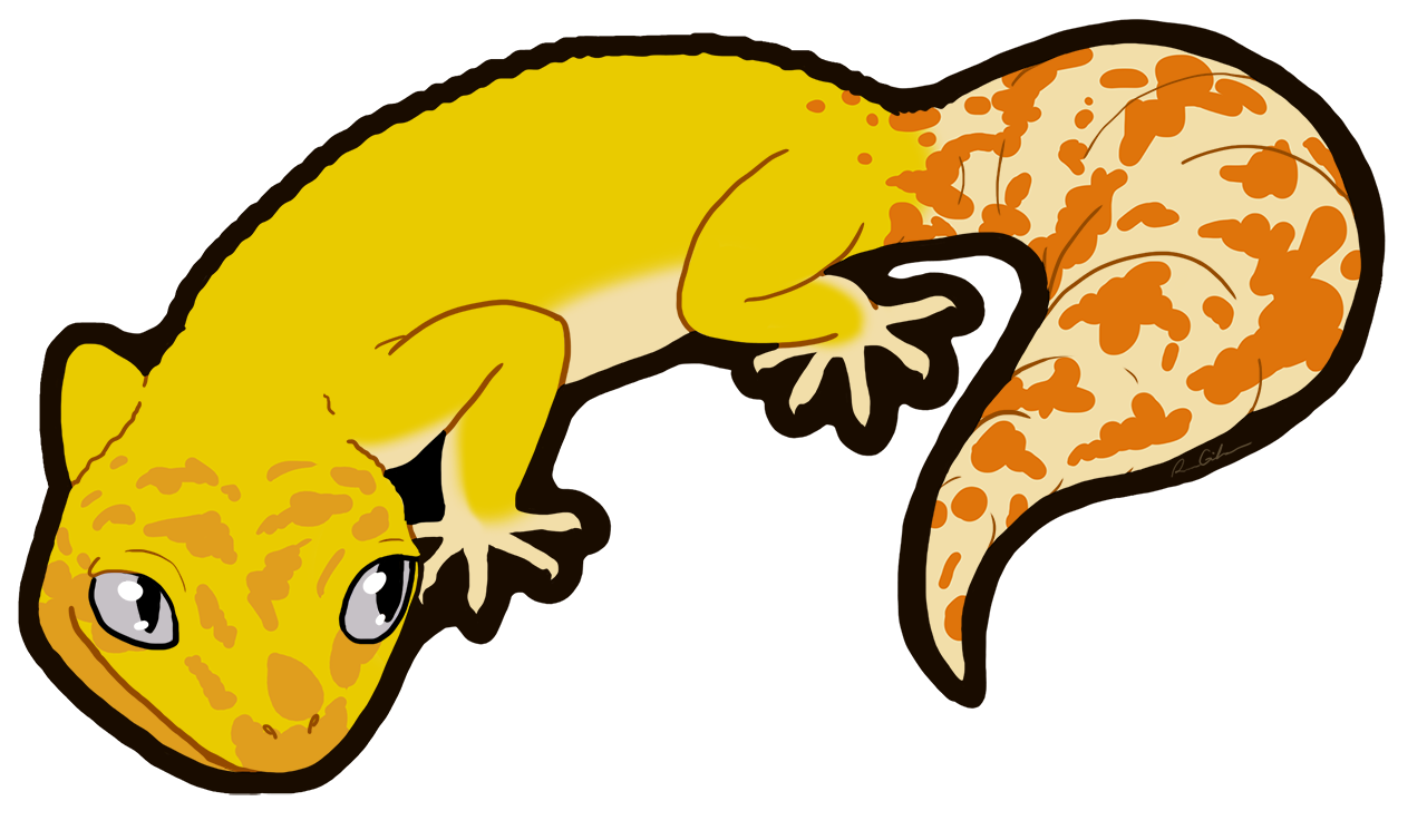 clip art library stock Leopard Gecko Clipart at GetDrawings