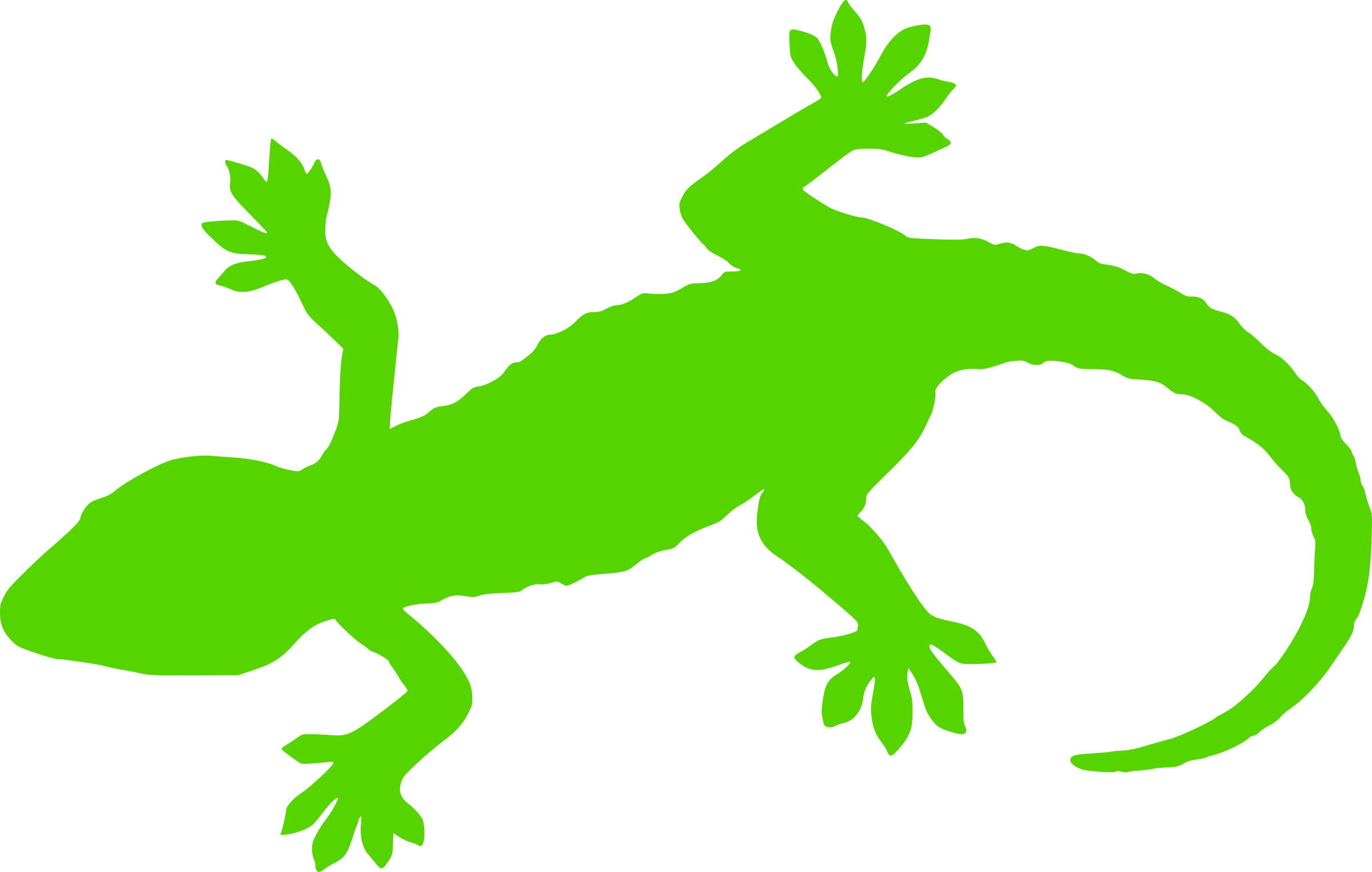 vector download Green silhouette icons png. Gecko clipart