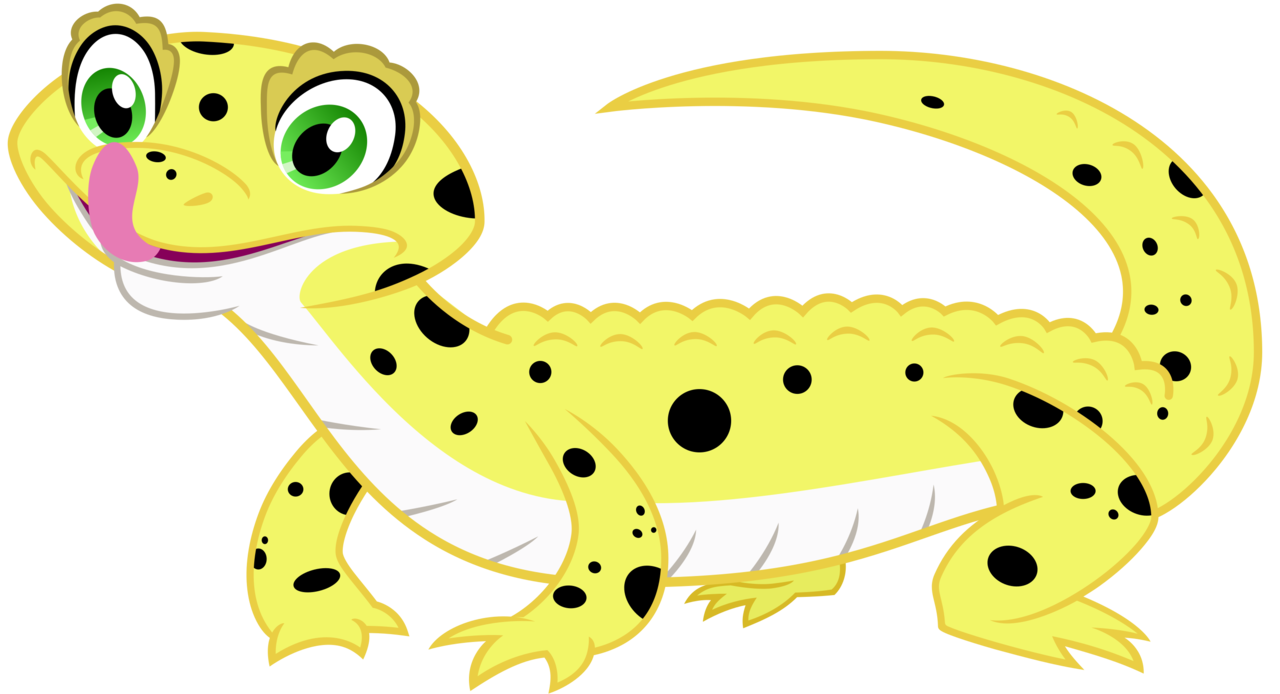 png black and white library Gecko Clipart pet lizard