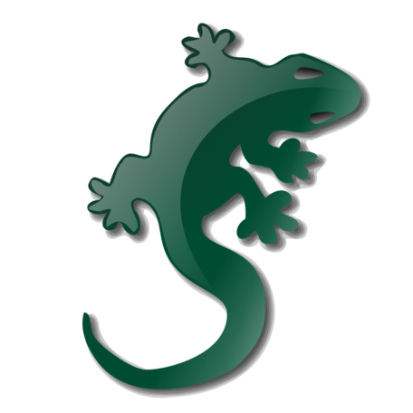 picture stock Free lagarto and vector. Lizard clipart abstract.