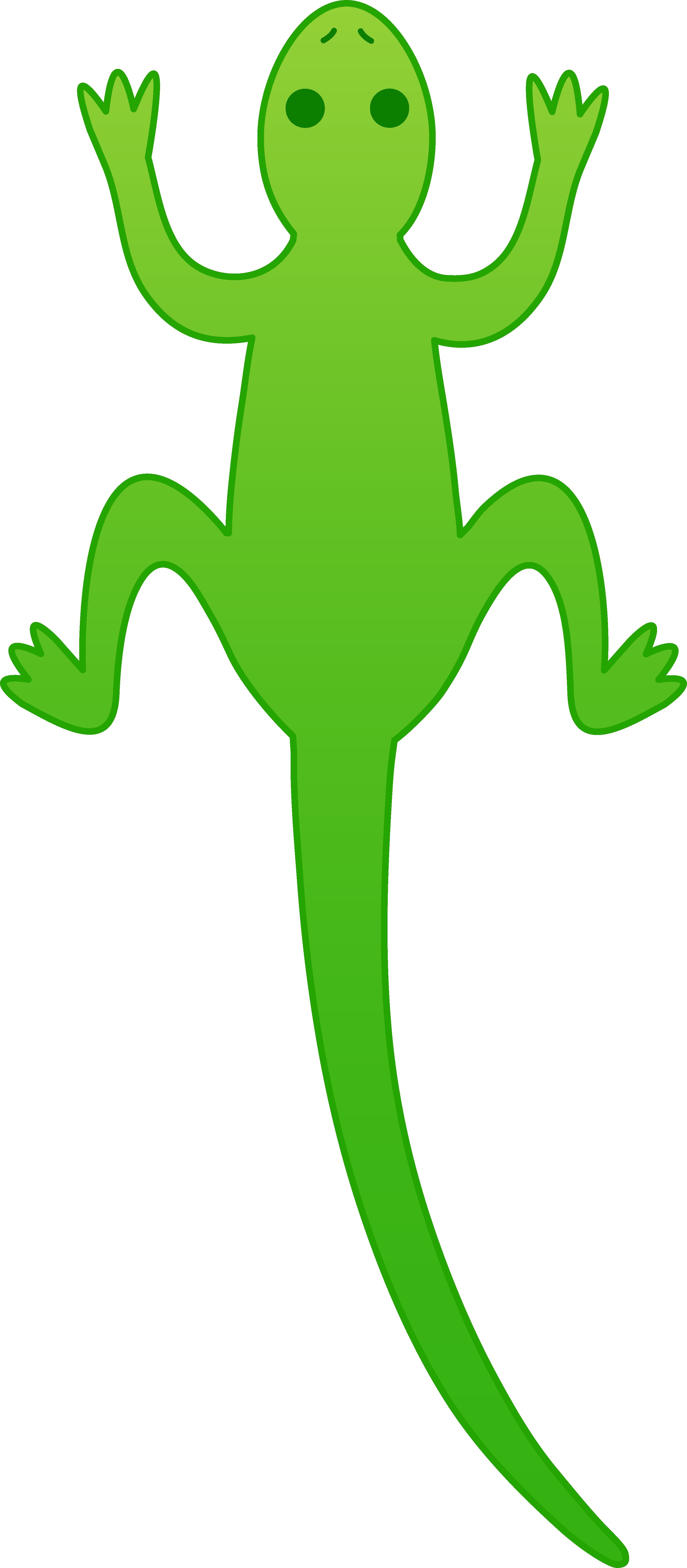 banner freeuse stock Gecko Clipart happy
