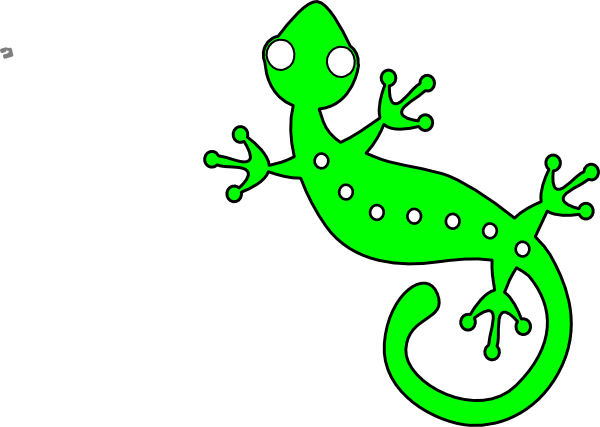 vector freeuse download Gecko vector. Lime clip art at