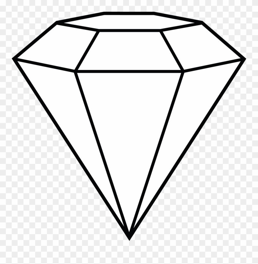 image free Art library diamond clipart. Black clip gem