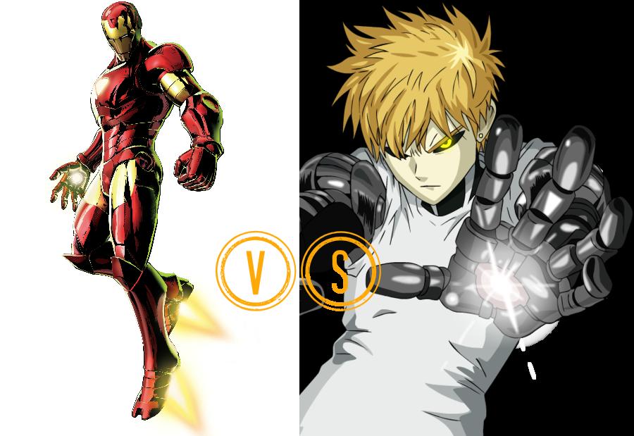 png transparent stock Iron Man VS Genos by BlackOtakuZ on DeviantArt