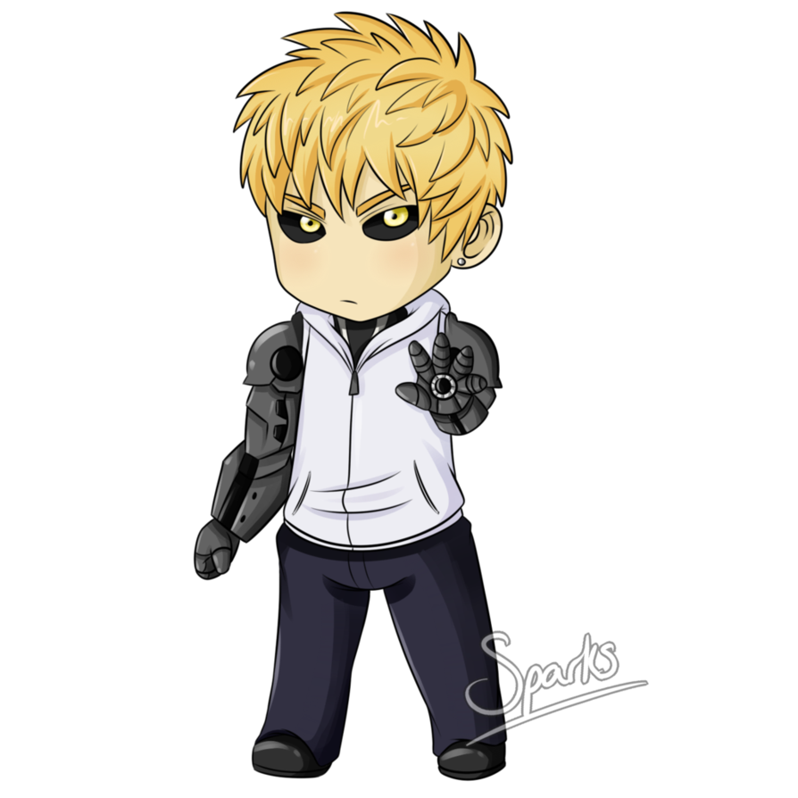 graphic library stock Genos Chibi by SparksReactor on DeviantArt