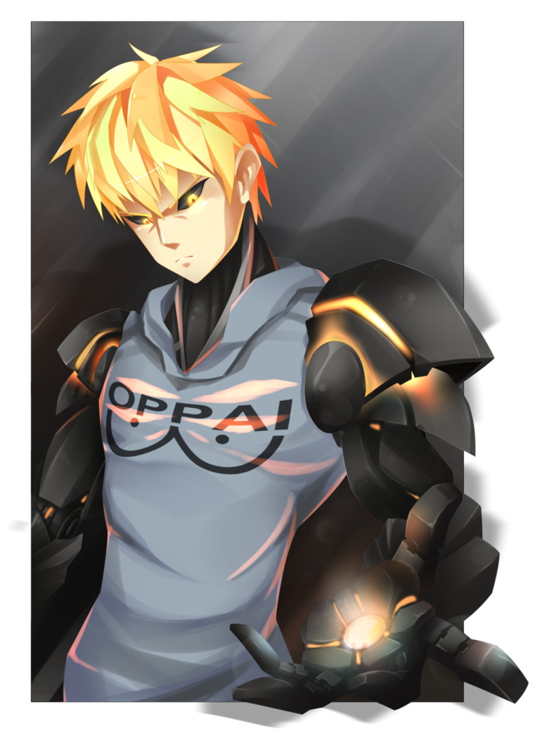 picture royalty free library Genos by GoroKyun on DeviantArt