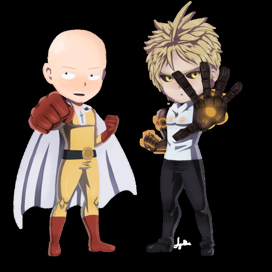 clipart free Saitama and Genos by JeyraBlue on DeviantArt