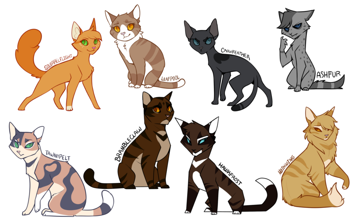 freeuse download Minus Stormfur and Feathertail I just really didn