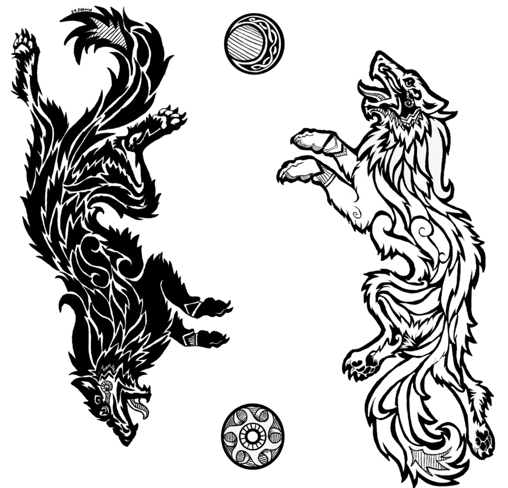 clip art royalty free library Sons of Fenrir by Da