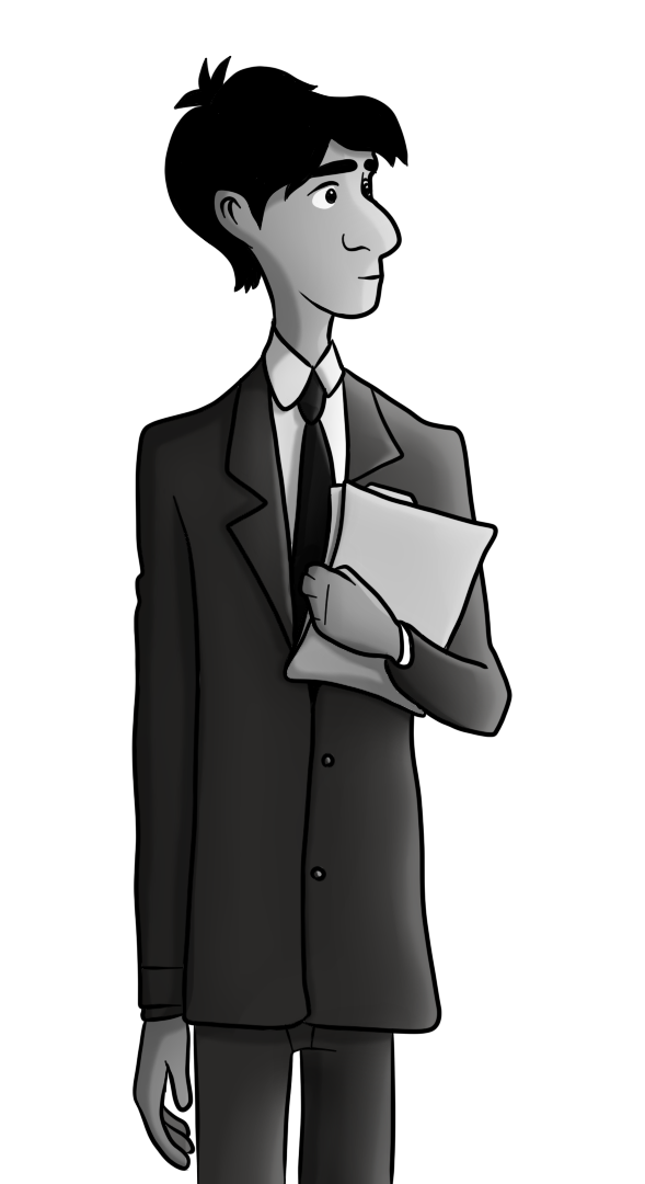 jpg freeuse download Paperman Digital Drawing by techs