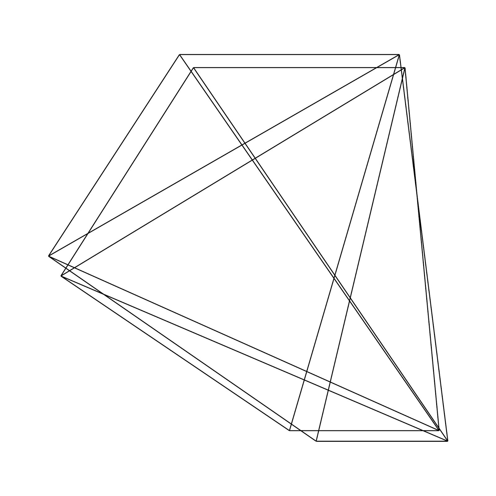png freeuse Shape reflection wave pattern. Geometric transparent