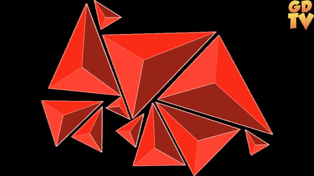 vector transparent stock geometric transparent cool #97066215