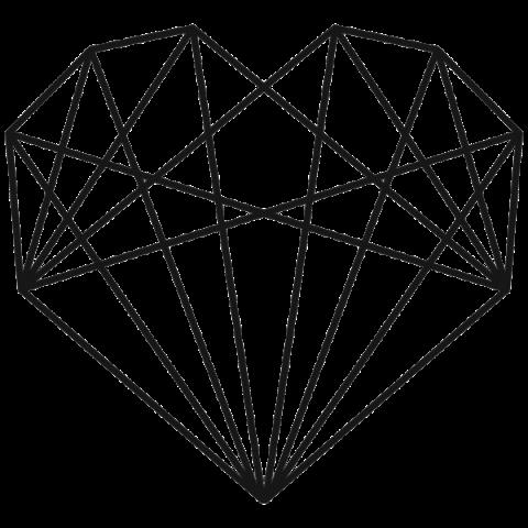 banner transparent stock Geometric heart png