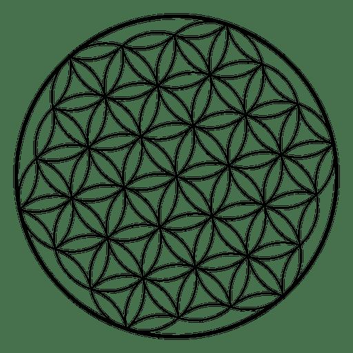 clip art transparent Flower life sacred geometry