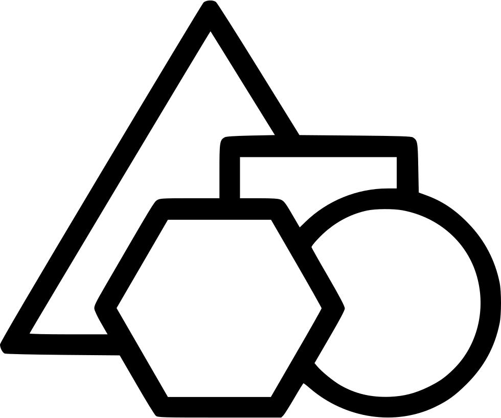 graphic freeuse Geometry Shapes Math Mathematics Angle School Svg Png Icon Free