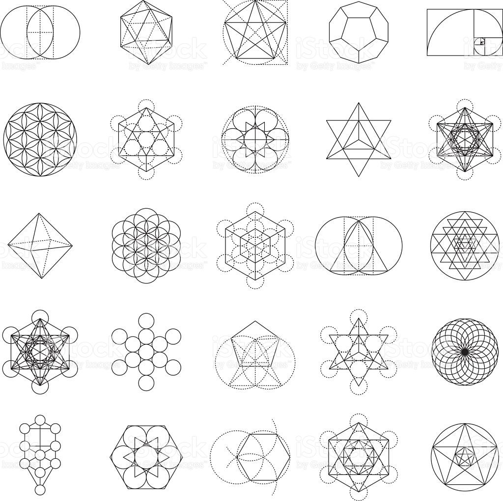 png download Geometry vector. A set of sacred.
