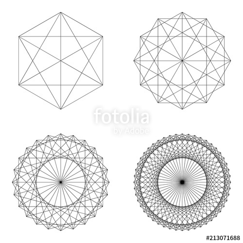 clip transparent library Geometry vector. Set of geometrical elements.