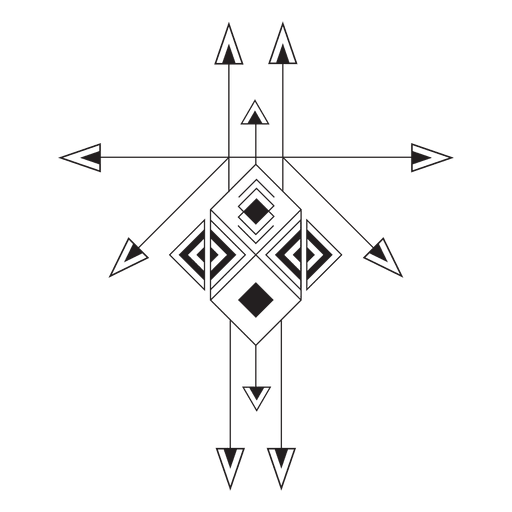 jpg library download Boho tribal geometric pinstripes