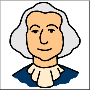 jpg freeuse library Clip art cartoon faces. George washington clipart.