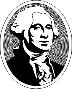 royalty free library George washington clipart. Clip art at clker.