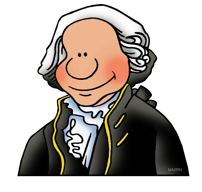 vector black and white stock George washington clipart. Occupations clip art by.