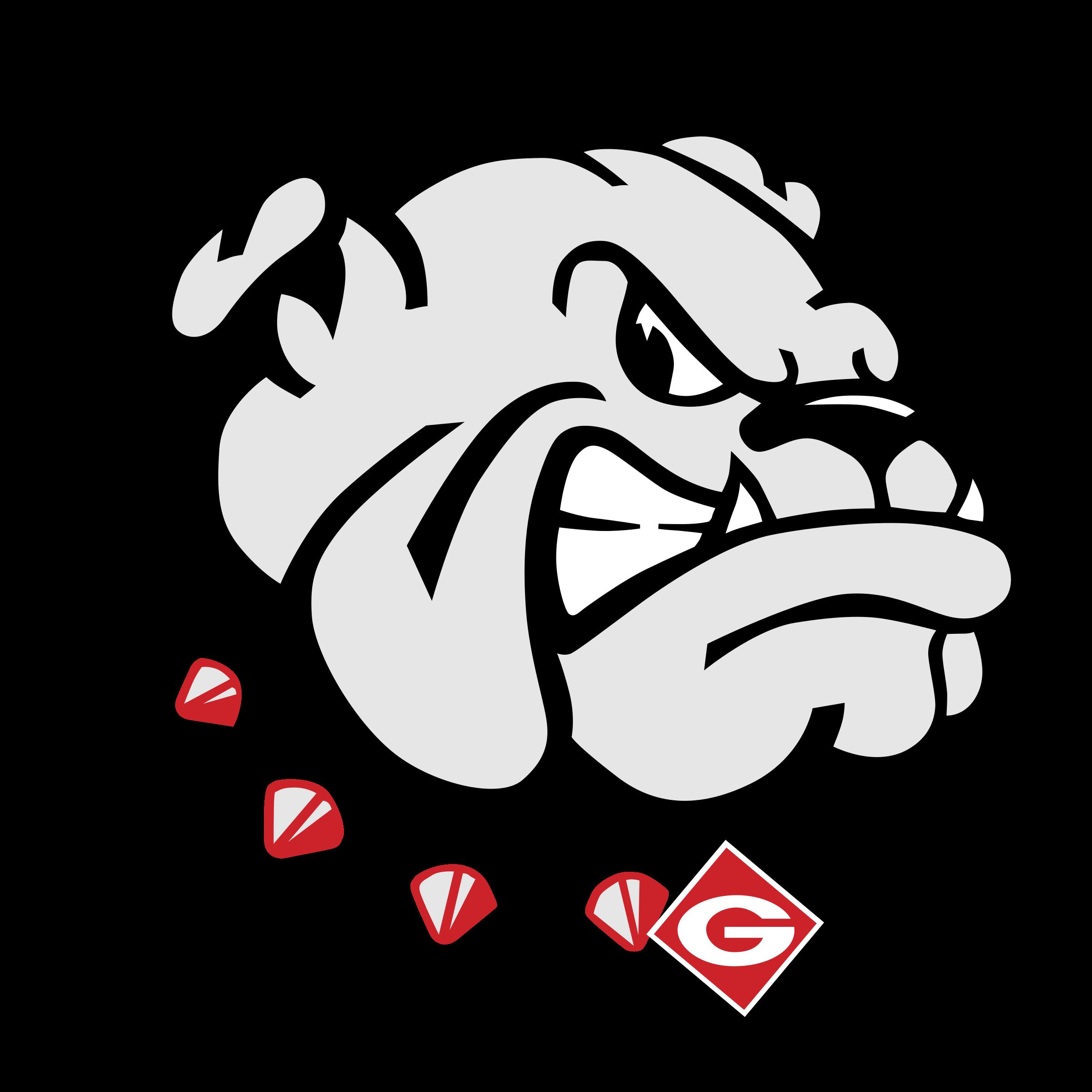 banner free library Georgia Bulldogs Logo PNG Transparent