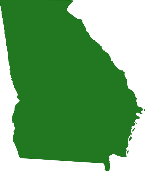 picture free stock Michigan clipart shape. State of georgia map.