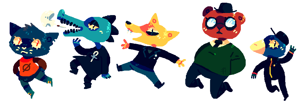 clip art freeuse Night In The Woods by afroclown on DeviantArt