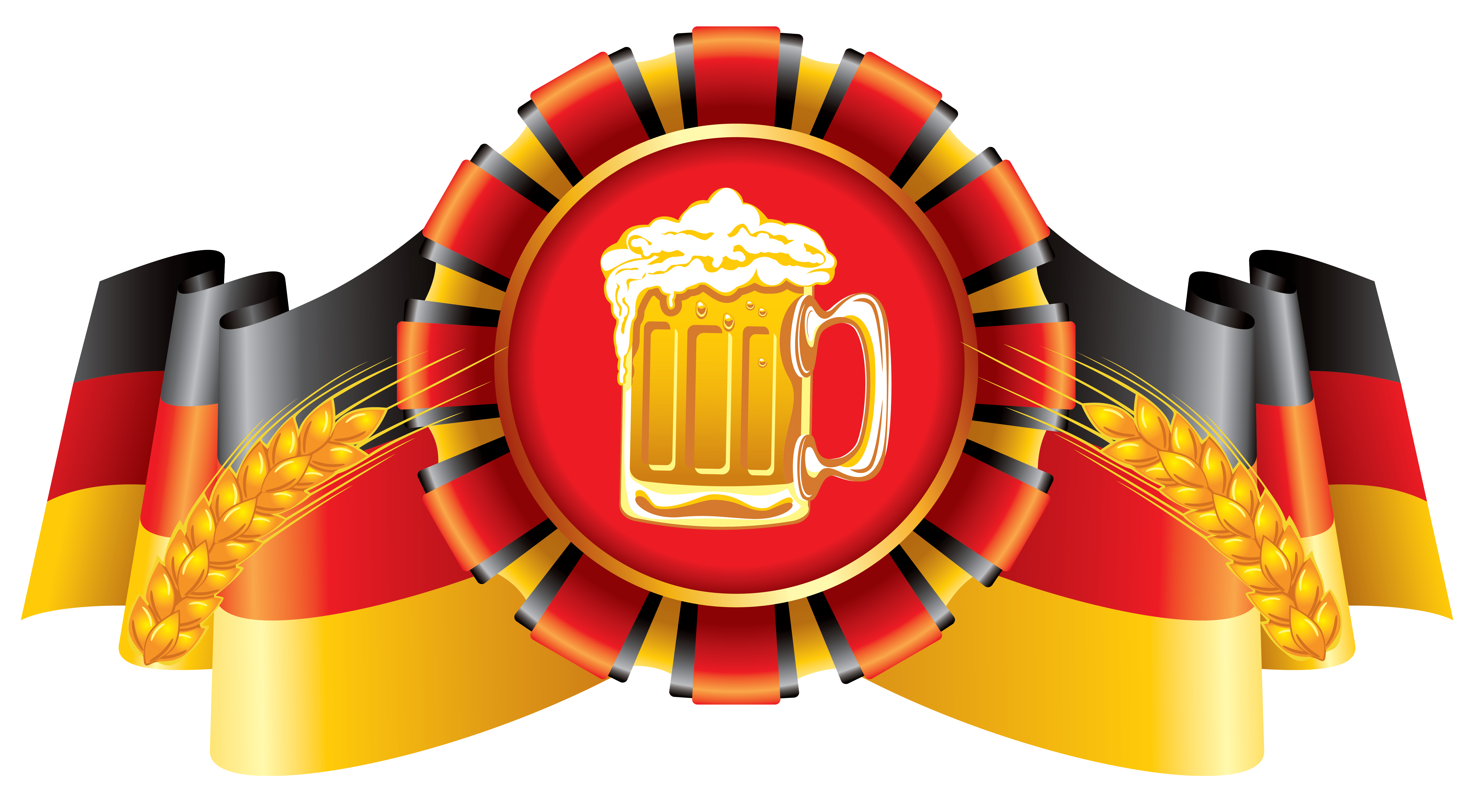 jpg royalty free download Oktoberfest decor flag and. German clipart.