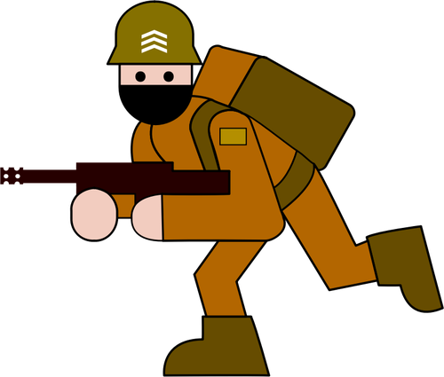 clip art freeuse library German Soldier Clipart at GetDrawings