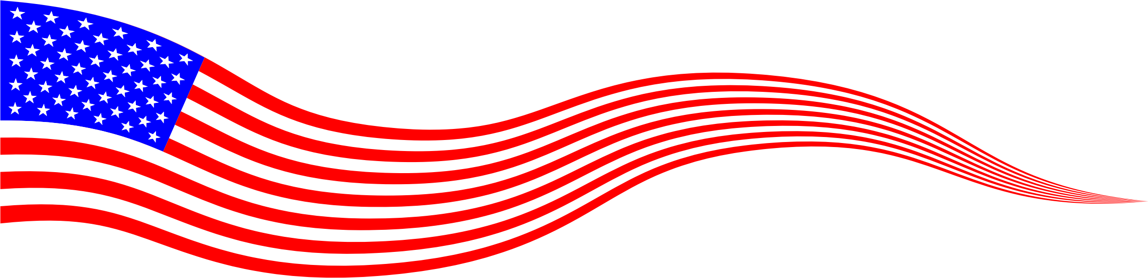 image library library Wavy USA Flag Banner by