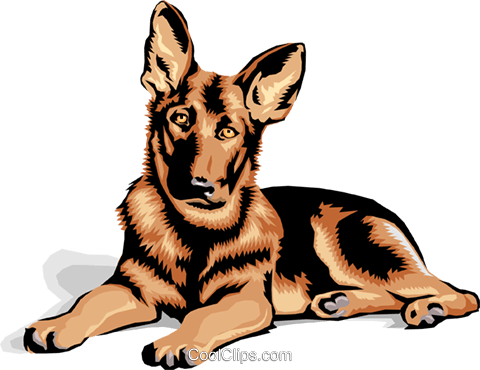 clip transparent download German Shepherd Clipart at GetDrawings