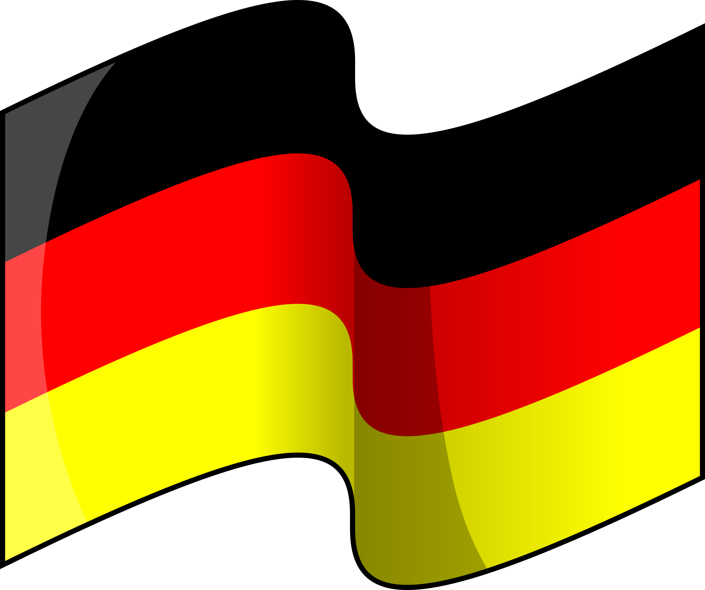 vector library download Flag of waving big. Germany clipart