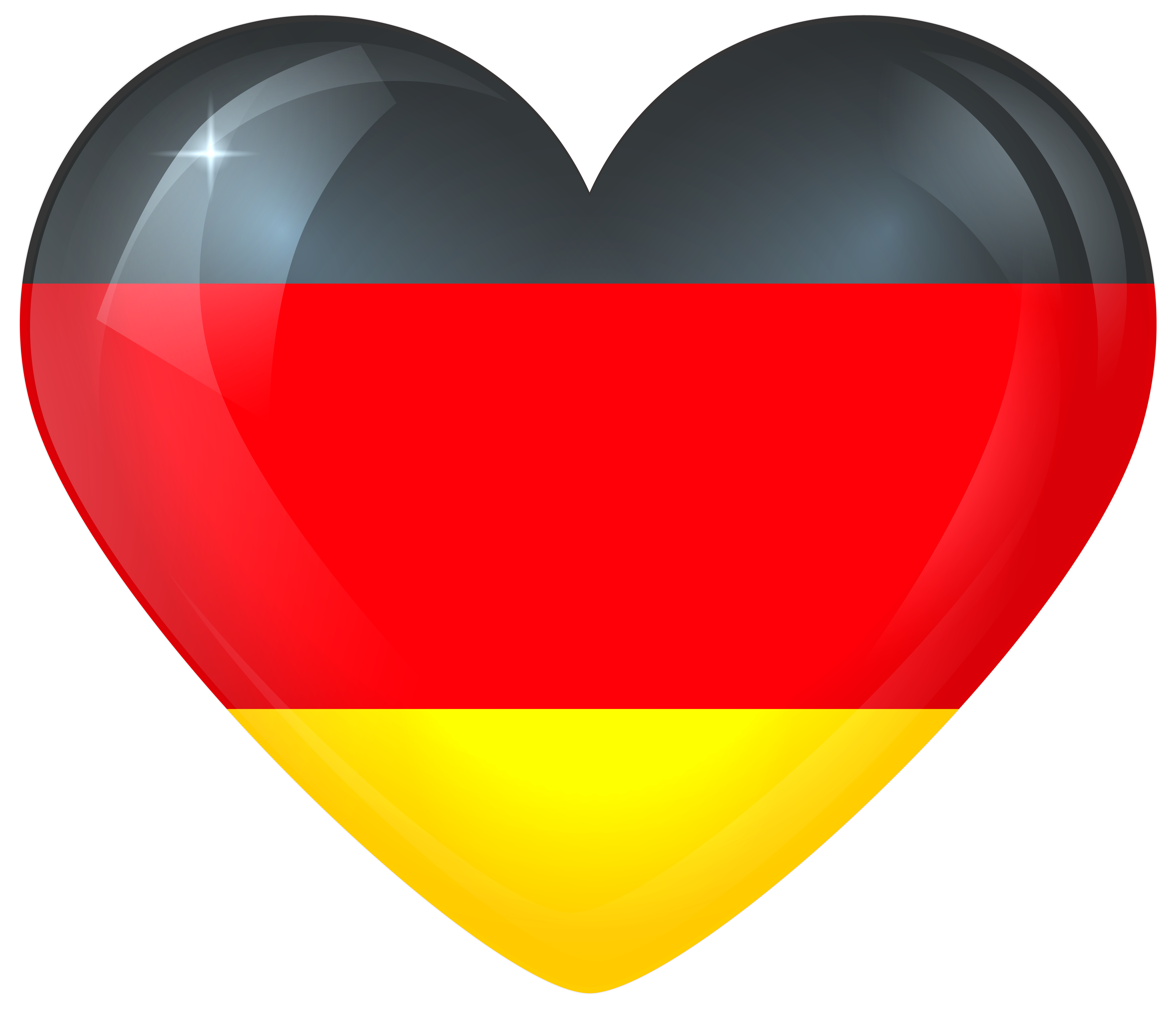image black and white download Germany clipart. Large heart flag gallery
