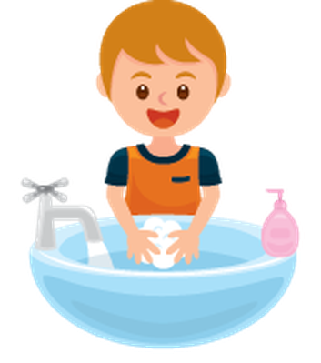 freeuse stock Hands the arts image. Washing clipart hygiene