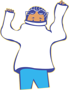 vector freeuse download Man clipart gujarati. Getting dressed small .