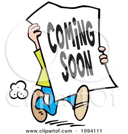 graphic download  coming clip art. Get soon clipart