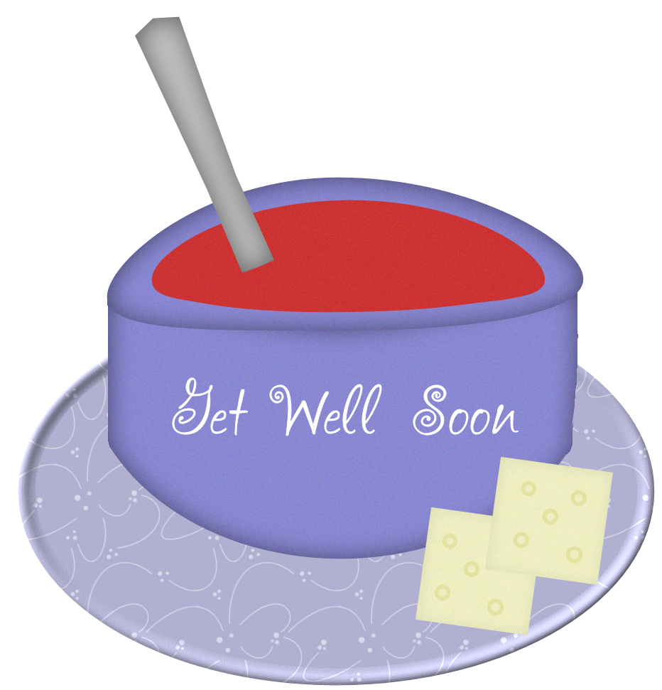 royalty free Get soon clipart. Sol artwords expression well