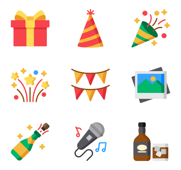 vector freeuse stock Event Icons