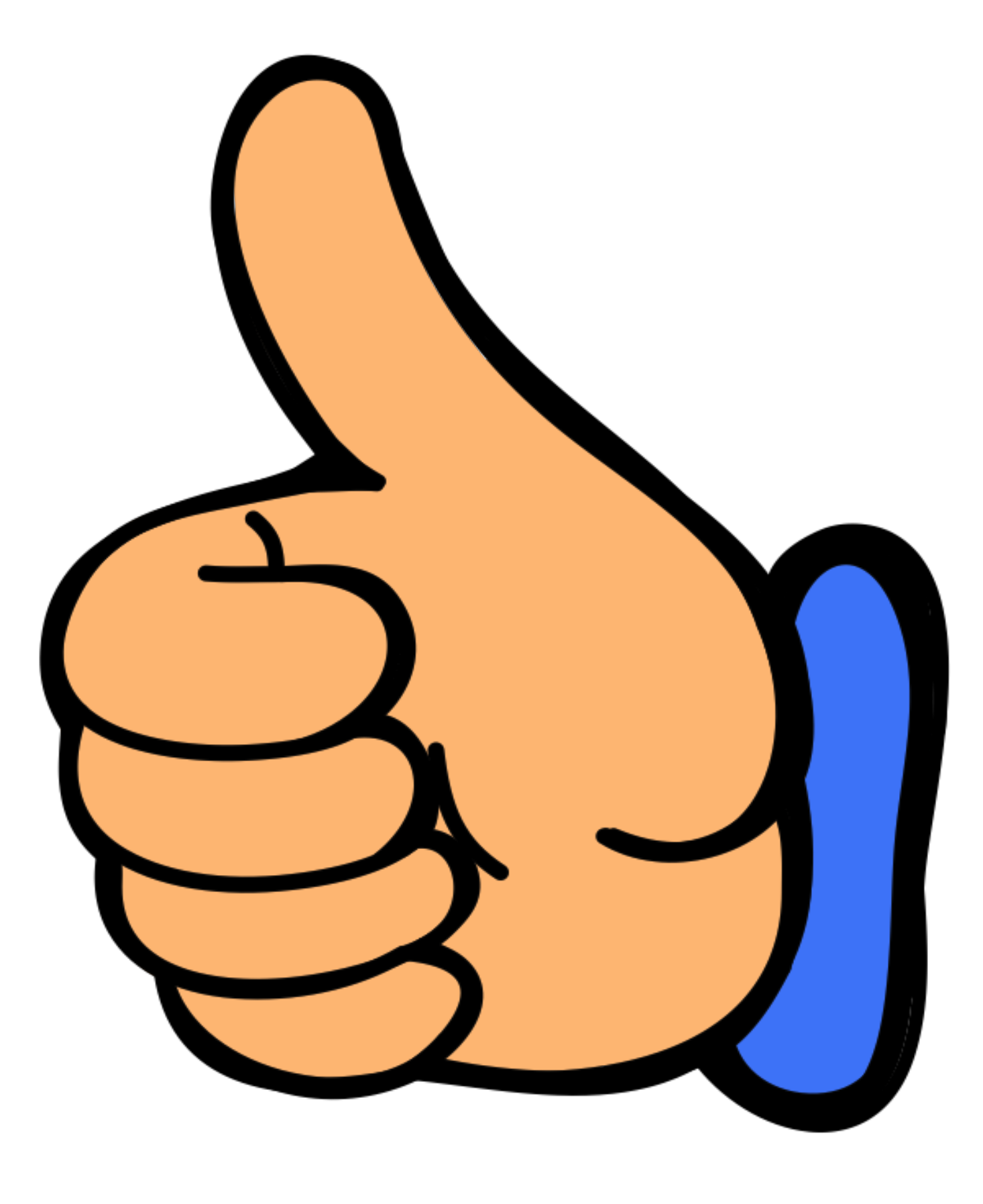 vector freeuse library Clip art royalty free thumbs up with money