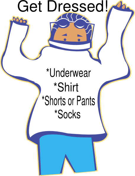 transparent library Clip art panda free. Getting dressed clipart.