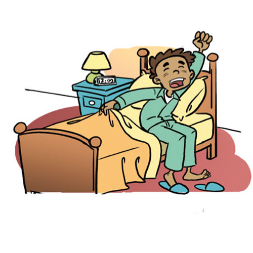 transparent stock Waking clipart getup. Wake up clipartbarn