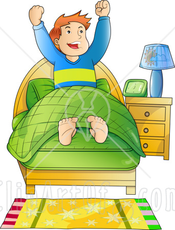 clip art royalty free library Free up cartoon download. Waking clipart morning