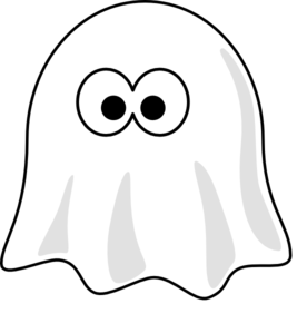 clip art freeuse library Ghost clipart. White