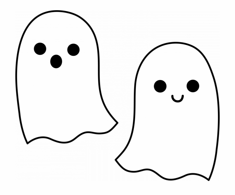 clipart library stock Cute emoji ghosts pngtube. Ghost clipart.