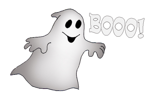 picture freeuse download Happy halloween saying booo. Ghost clipart.
